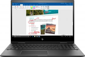 HP Envy x360 laptop tablet