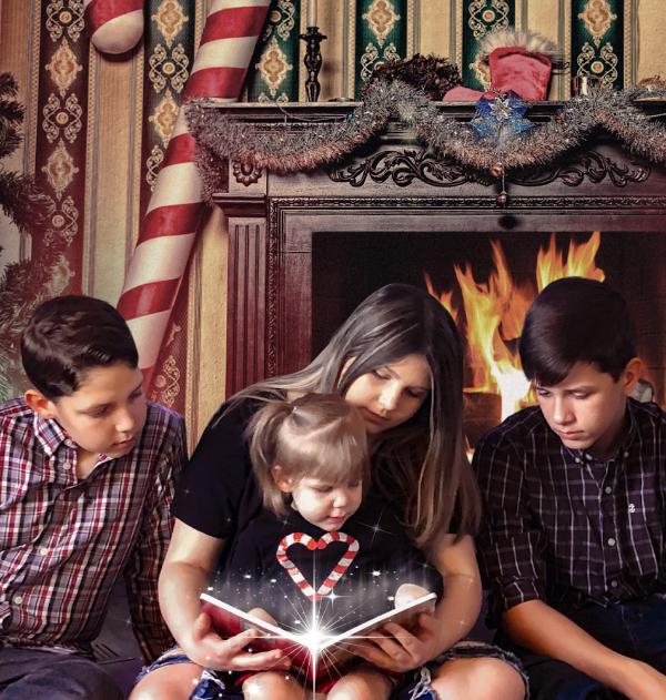 Christmas book magic