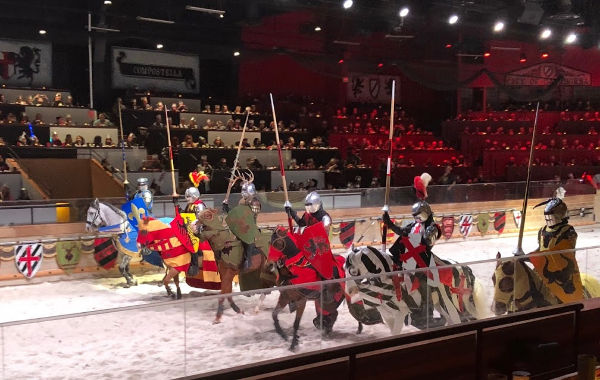 Medieval Times NJ knights