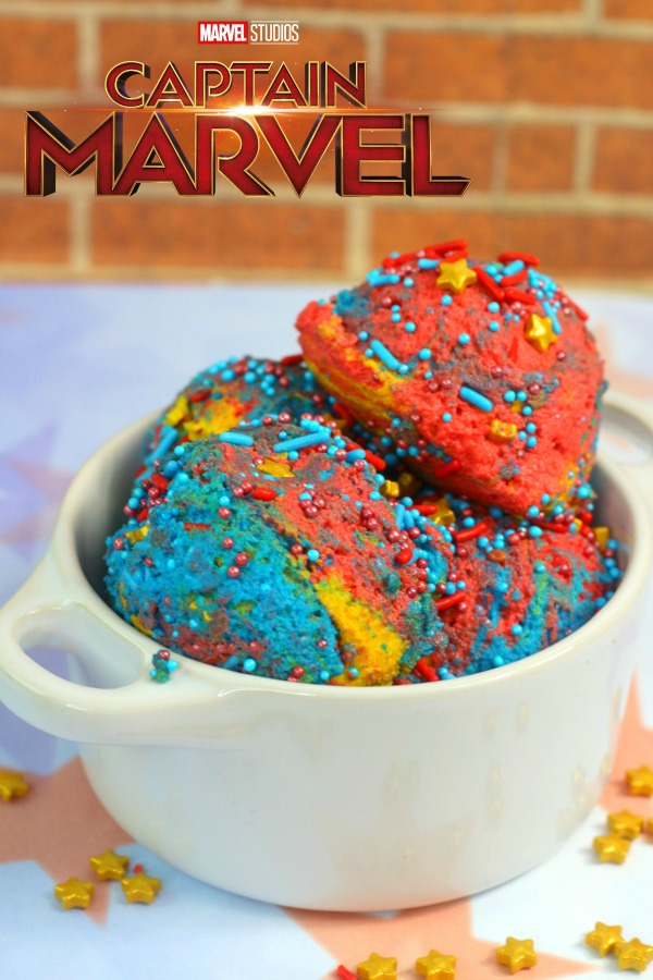 Captain Marvel edible cookie dough