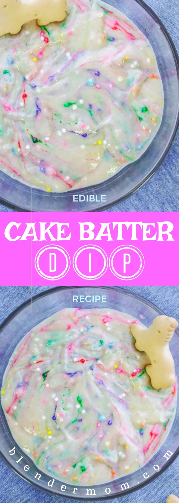 edible cake batter dip recipe