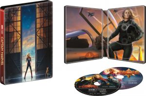 captain marvel steelbook