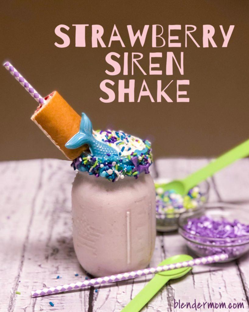strawberry siren shake