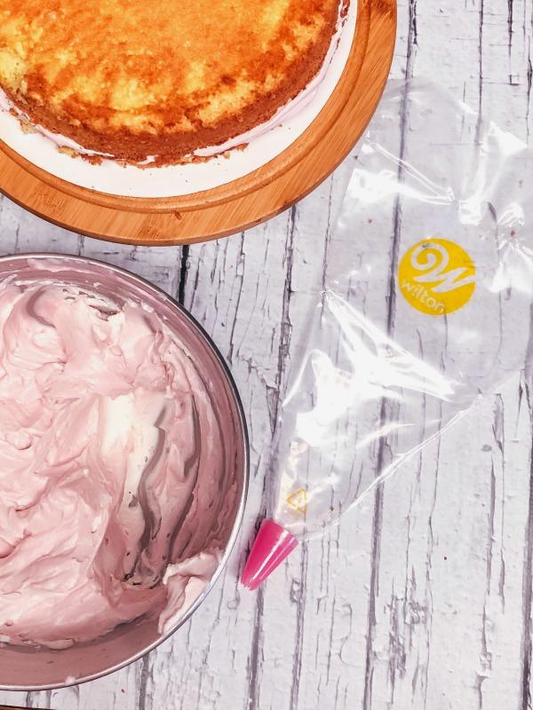 sangria cake whipped cream wilton