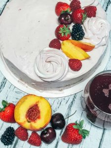 summer sangria cake recipe
