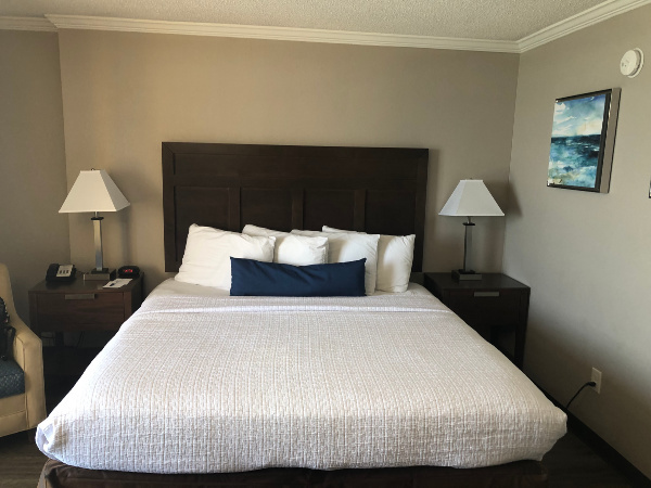 Caravelle Resort king bed