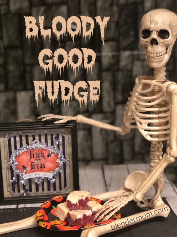 bloody good fudge recipe