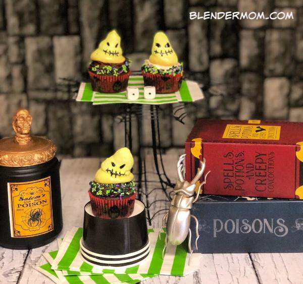 oogie boogie cupcakes nightmare before christmas
