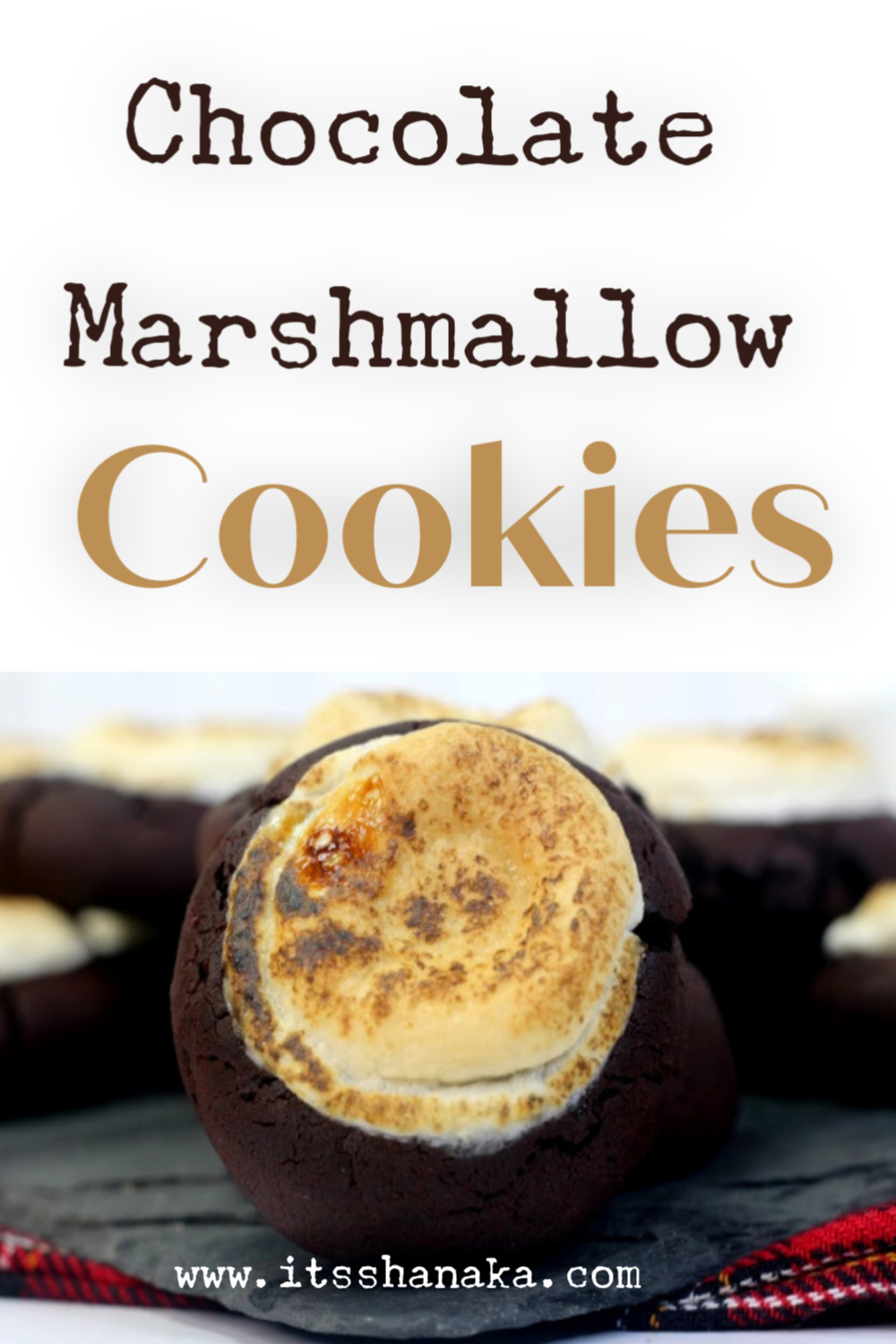 chocolate marshmallow cookie recipe