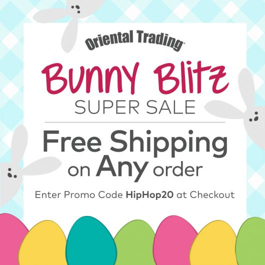 Oriental Trading coupon code free shipping