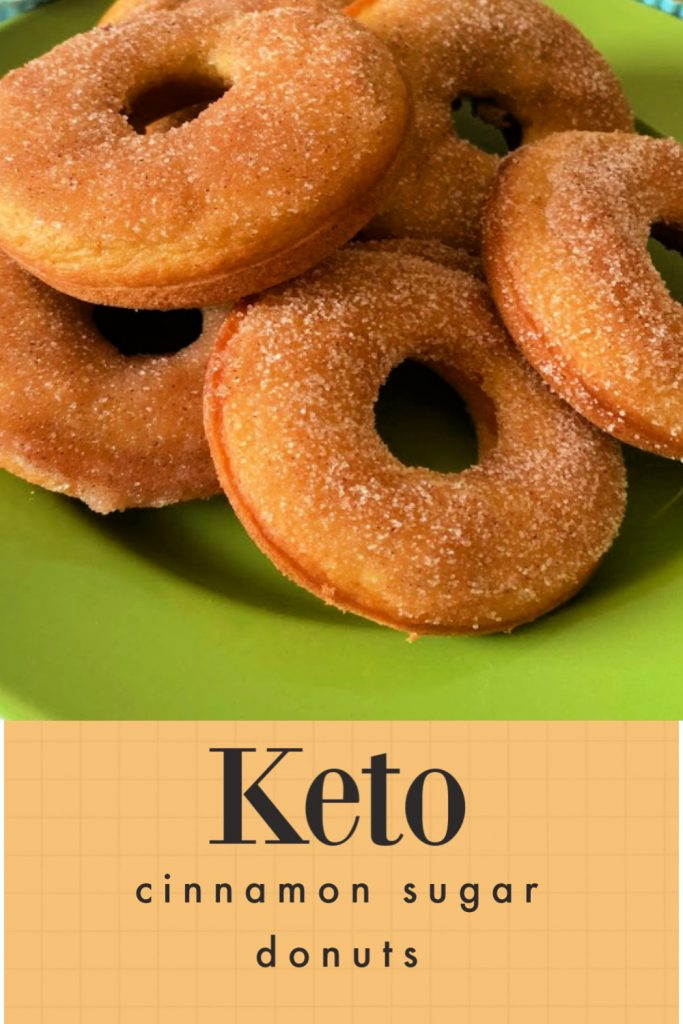 cinnamon sugar keto donuts recipe