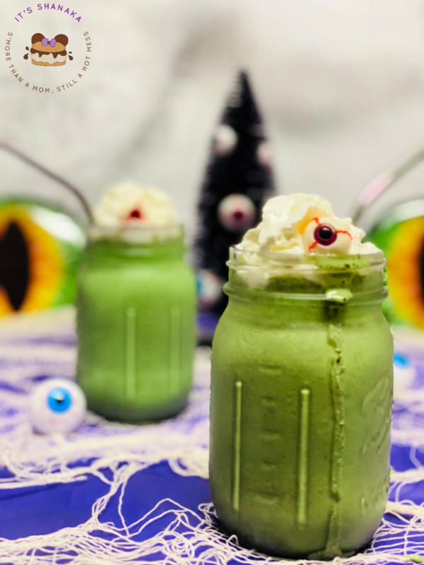 eye of newt halloween milkshake