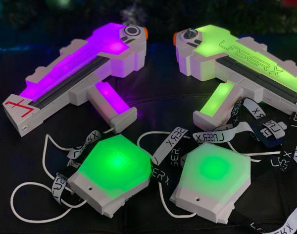 Revolution laser tag game