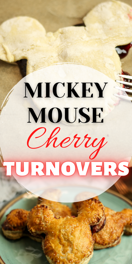 Mickey Mouse cherry turnover recipe