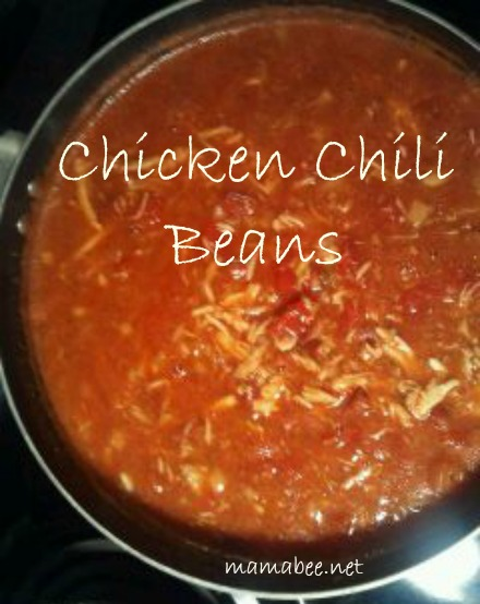 """Chicken Chili Beans recipe"""
