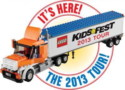 """LEGO KidsFest 2013 Virginia tickets giveaway"""