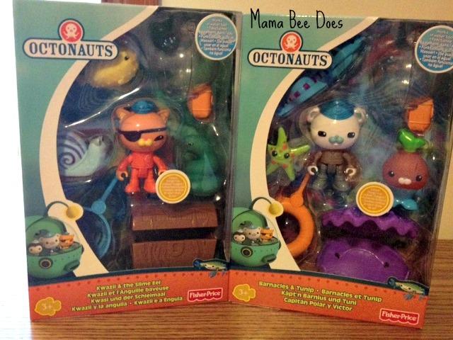 Disney Junior Octonauts toys review