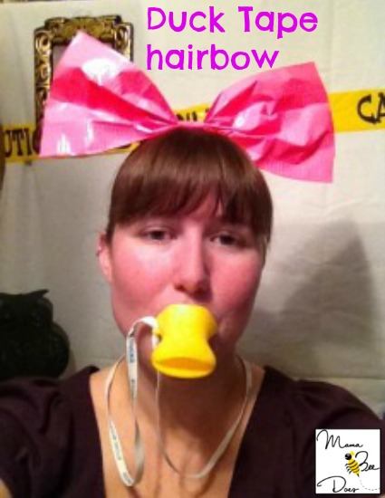 duck tape hairbow