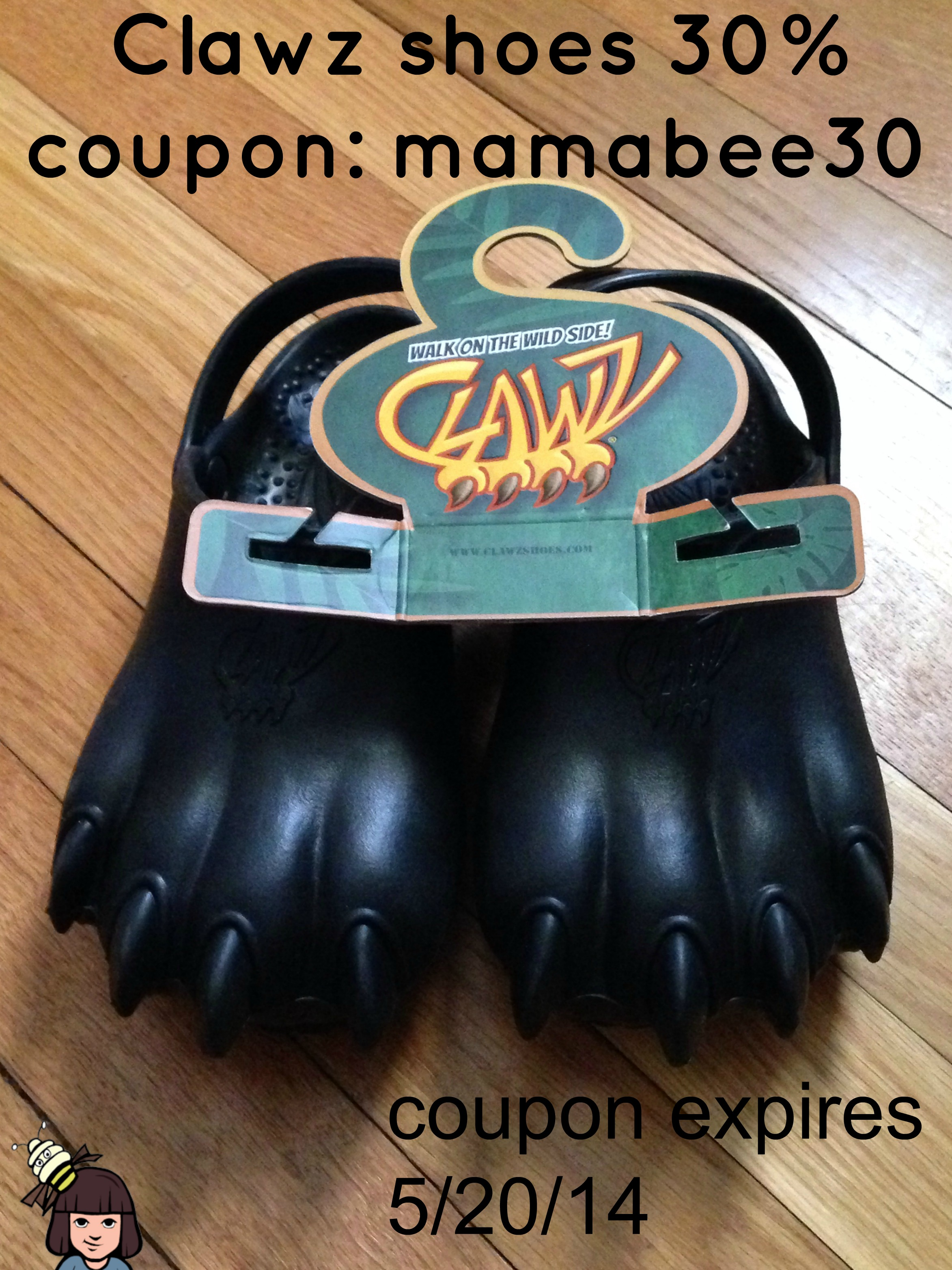 clawz shoes coupon
