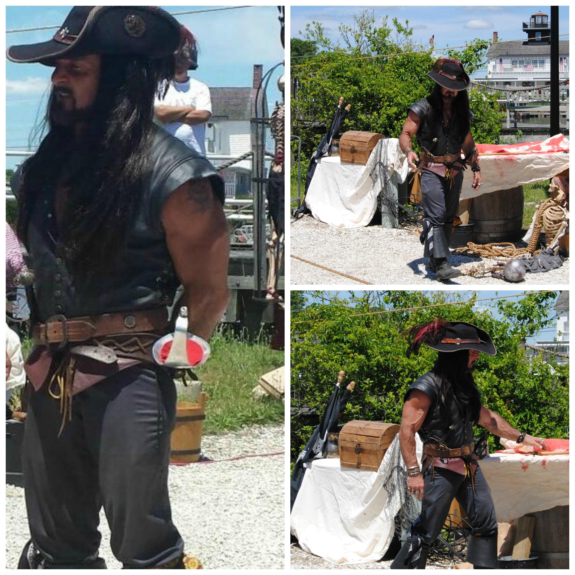 Tuckerton Seaport captain black