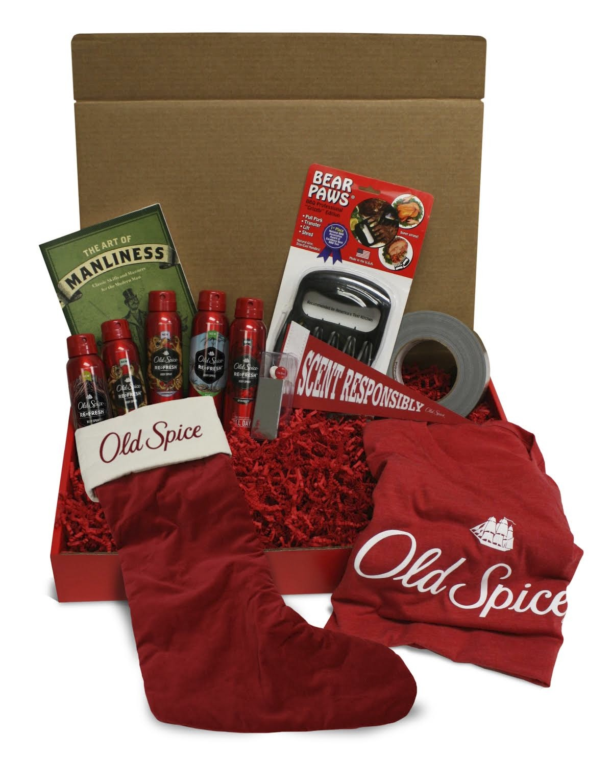 old spice giveaway smellcome to manhood