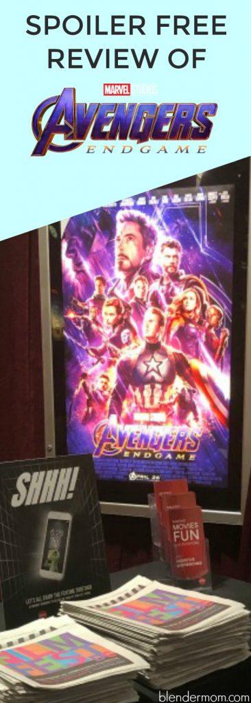 spoiler free review Avengers Endgame