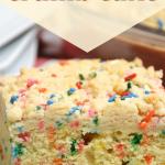funfetti birthday crumb cake recipe