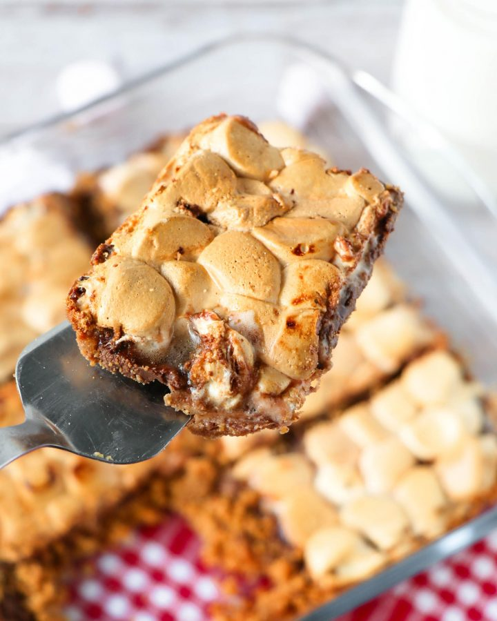 gooey s'mores bars quick and easy